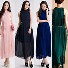 2015New Sexy Summer Womens Boho Beach Evening Party ChiffonLong Maxi plus Dress