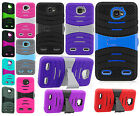 For ZTE Zephyr Z752C Hard Gel Rubber KICKSTAND Case Phone Cover Accessory