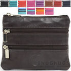 Ladies / Womens Soft Leather Handy Coin / Money Purse