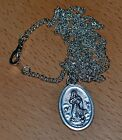 ASSUMPTION Medal Pendant, 15 x 22mm, Made In Italy, Select Combo Chain/BULK Etc.