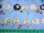 KNITTY SHEEP 100% cotton patchwork fabric