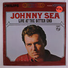 JOHNNY SEA: Live At The Bitter End LP (slight corner bend, drill hole) Country