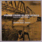 JAMES EARL JONES: Poems From Black Africa LP (sm date rubber stamp & wobc, sm c