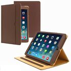 New For Ipad Mini 123 Soft  Leather Wallet Smart Case Cover Sleep/Wake Stand