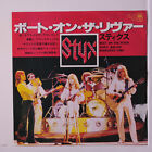 STYX: Boat On The River / Borrowed Time 45 (Japan, M- PS insert, w/ company sle