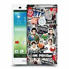 OFFICIAL ONE DIRECTION 1D LOCKER ART GROUP CASE FOR FUJITSU ARROWS NX F-01F LTE