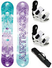 AIRTRACKS SNOWBOARD SET: BLUEBIRD+BINDUNG FLOW HAYLO+SB BAG /138 145 151 155 cm/