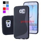 New S-Line Soft TPU Gel Case Skin Cover For Samsung GALAXY S6 / S6 Edge