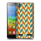 HEAD CASE DESIGNS WOVEN PAPER PATTERNS HARD BACK CASE FOR LENOVO A6000