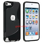 New S-Line Soft TPU Gel Case  Skin Cover  For Apple iPod Touch 5 5th Gen