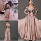 Summer Maxi Lace Evening Party Prom Wedding Gown Bridesmaid Cocktail Long Dress