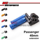 "M-Grip CNC 1.5"" Adjustable Riser Rear Foot Pegs for Suzuki GSXR 1000 05-11 12 13"
