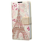 Boost Mobile LG Tribute 2 Premium Leather Wallet Pouch Flip Cover +Screen Guard
