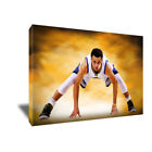 Golden State Warriors STEPH CURRY Go Time Poster Photo Painting CANVAS Wall Art on eBay