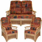 New Cane Suite Replacement Cushions/Covers Conservatory Furniture wicker Gilda