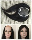 """4""""x5""""100% unprocessed human hair replacement systems toupee wig topper 8""""~12"""""""