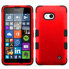 For Nokia Lumia 640 IMPACT TUFF HYBRID Protector Case Skin Phone Cover Accessory