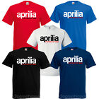 APRILIA RACING MOTORCYCLE MOTORBIKE T SHIRT CUSTOM PRINT CHOICE OF COLOURS