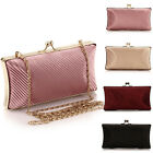 New Ladies Evening Clutch Chain Party Wedding Bridal Bag Handbag Shoulder Bag