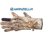 Manzella Gloves White Tail Mens Bow Hunting Gloves Touch Tip Realtree Xtra H165M