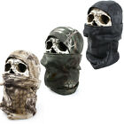 Serpentine Camouflage Balaclava Outdoor Tactical Full Face Mask Helmet Hat Cap