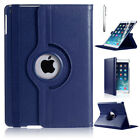 Leather 360 Degree Rotating Smart Stand Case Cover For iPad Air Air 2 and Mini