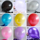 20/50/100PCS Latex Balloon Assorted Wedding Party Decor 10 Inch Helium Quality