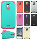 For Alcatel OneTouch Pop Astro HARD Astronoot Hybrid Rubber Silicone Case Cover