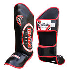 Shin Pads Instep Guards MMA Kick Boxing Muay Thai Training Leg  Foot Protector