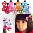10pcs Toddler Kids Baby Girls Hair Clips Hair Pin Ribbon Bow Hair Accessories