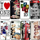 Fashion idol One Direction Cases Hard Case Cover Back For iphone 4 4S 4G 5 5G