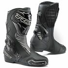 TCX S-SPEED WATERPROOF CE CERTIFIED SPORTS TOURING BIKE BOOTS BLACK GRAPHITE