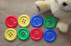 GIANT CLOWN BUTTONS X 2 SIZE 100 (64MM) - CHOICE OF COLOURS