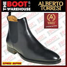 Toledo By Alberto Torresi. Men's High Quality Slip-On Fashion Boots In Black. NE