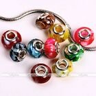 MOP Shell Resin Inlaid European Charms Bead For Chain Bracelet Necklace Making