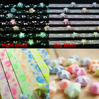 90/210/300 Strips Lucky Wish Stars Origami Folding Paper Ribbon Fluorescence