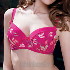 Fauve Lingerie Dominique Padded Half Cup Bra Blossom 0301 NEW Select Size