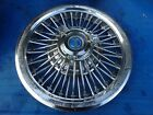 "1965 - 1967  FORD GALAXIE  500 XL WIRE SPOKE SPINNER 15"" WHEEL COVER HUB CAP #1"