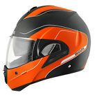 Shark Evoline 3 Arona Modular Motorcycle Riding Helmet Orange Black