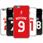 LIVERPOOL FC LFC SHIRT NEW 2015/16 HARD BACK CASE FOR APPLE iPHONE PHONES