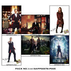 NEW Doctor Who Peter Capaldi Dr casts signed/Un poster Jenna Coleman