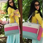 Fashion Mummy Womens Baby Diaper Nappy Changing Bag shoulder Tote Bags