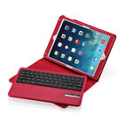 For Apple iPad Air /Air 2 Stand Leather Case Cover Smart With Bluetooth Keyboard