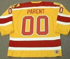 BERNIE PARENT Philadelphia Blazers 1973 WHA Vintage Throwback Hockey Jersey