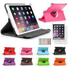 360 Rotating Leather Case Smart Cover Swivel Stand For iPad Mini 2 3 Retina Hot
