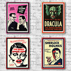 Vintage Poster Art Canvas Print - Film Ben Hur Dracula Moreambe Rocky Horror