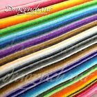 88 Wool Felt Sheets Mega Bundle 1mm Thick Mixed Colours Approx 30cm/12in Squares