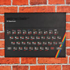 Sinclair ZX Spectrum 48k Art Canvas Print - Retro Gaming Console Wall Art Decor