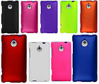 For Sprint HTC 8XT Rubberized HARD Protector Case Phone Cover +Screen Guard