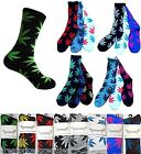 New Leafs Marijuana Plant Cotton Crew Weed Socks 10 Colors Unisex 420 Huf Style